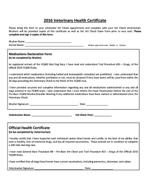 Veterinary certificate to eu pdf
