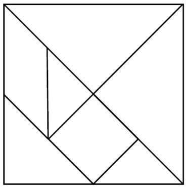 Printable tangram puzzle outlines pdf