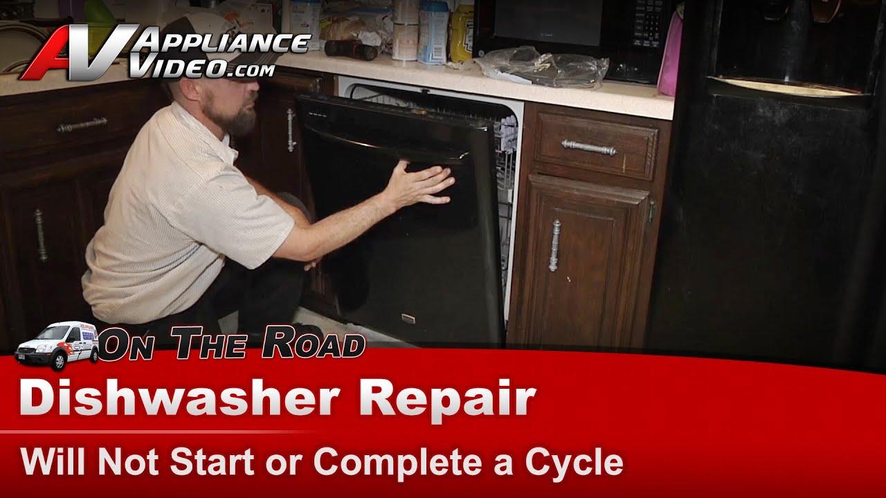 Brada dishwasher how to start