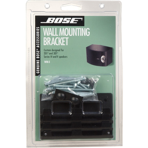 bose 301 wall mount instructions