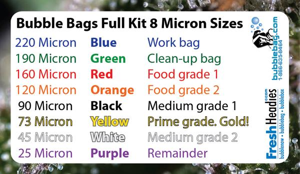 bubble hash bags instructions