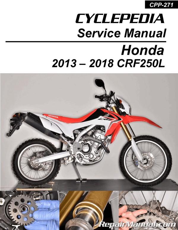 free honda crf250l service manual pdf