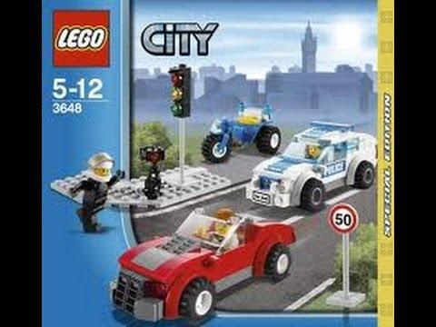 lego city police car instructions 3648
