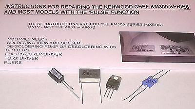 kenwood chef excel a902 instruction manual