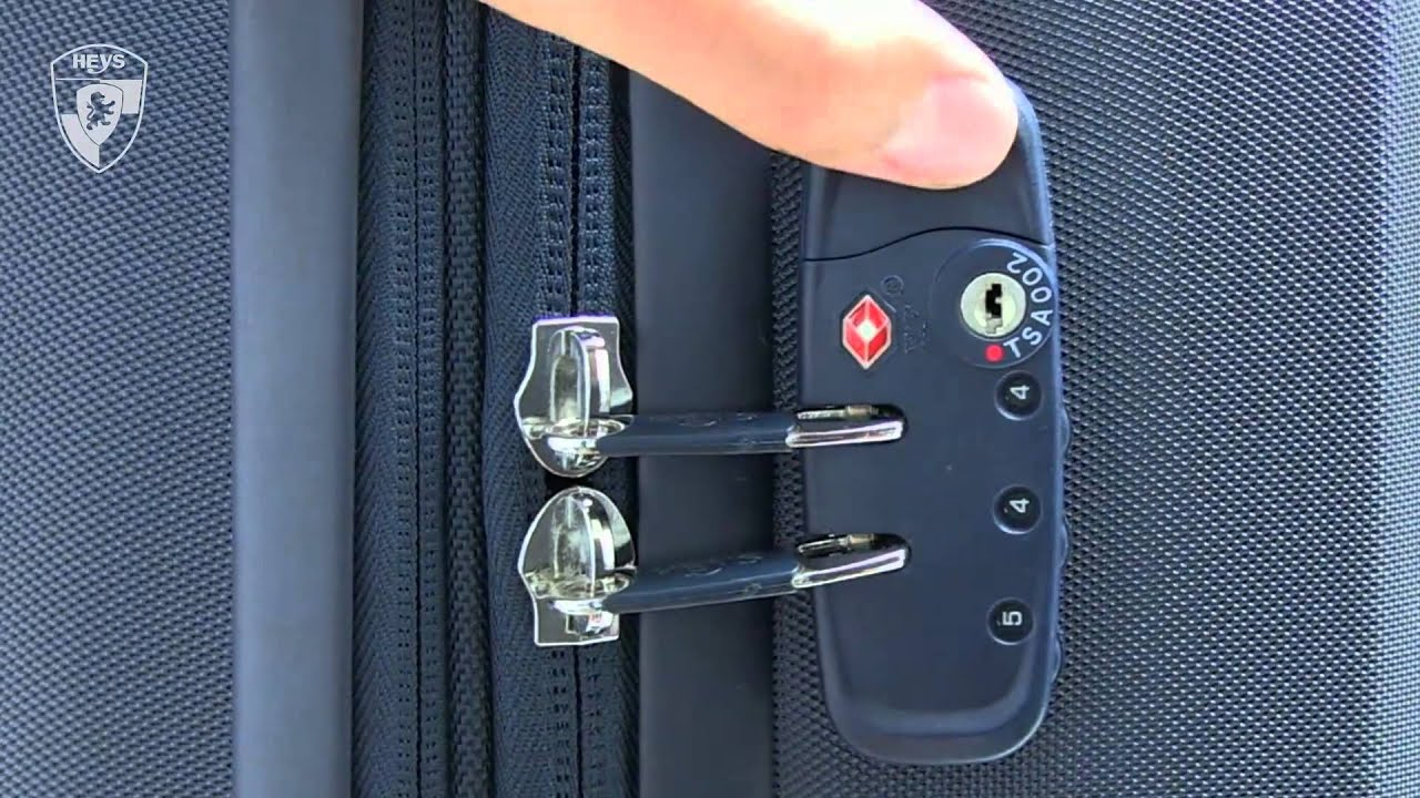flylite suitcase lock instructions reset