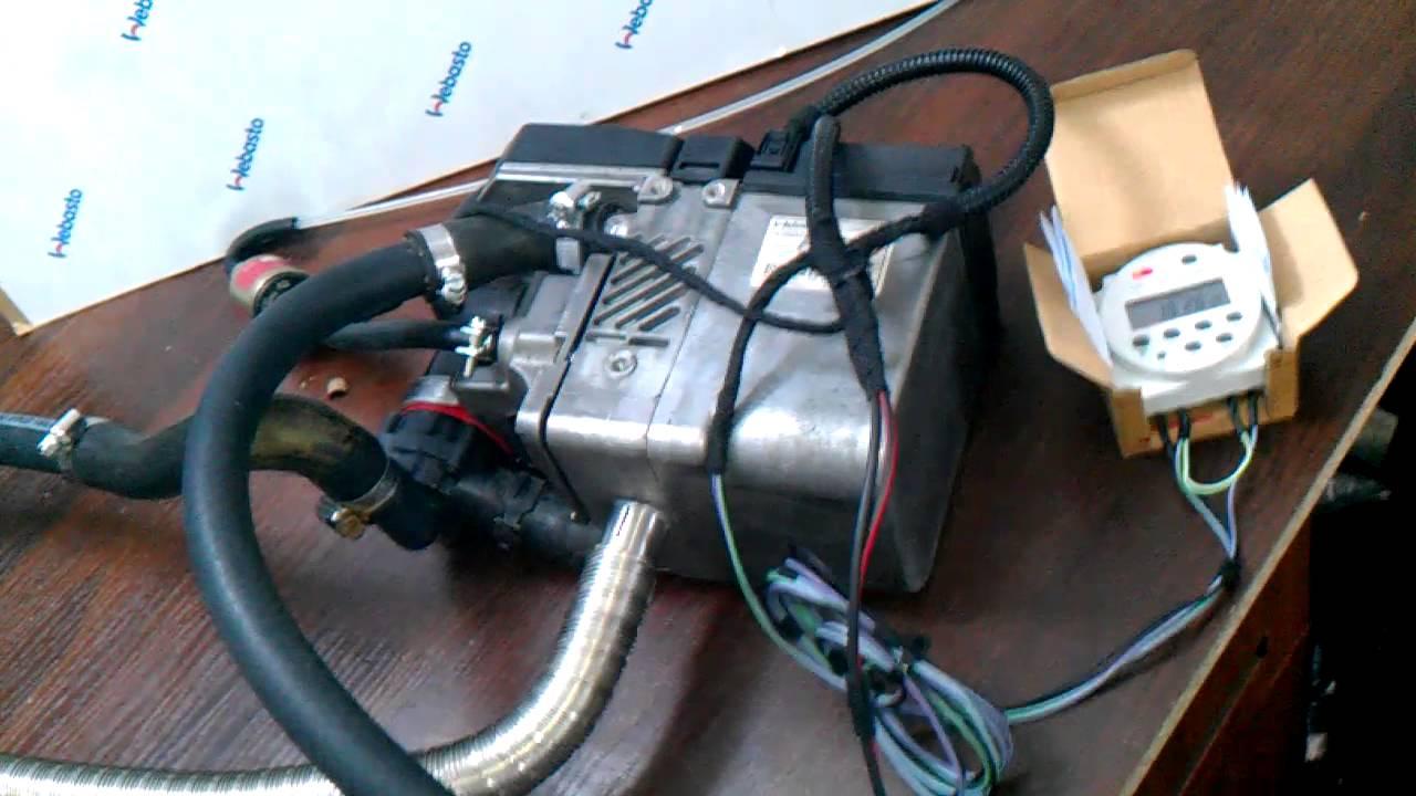 webasto thermo top evo installation manual