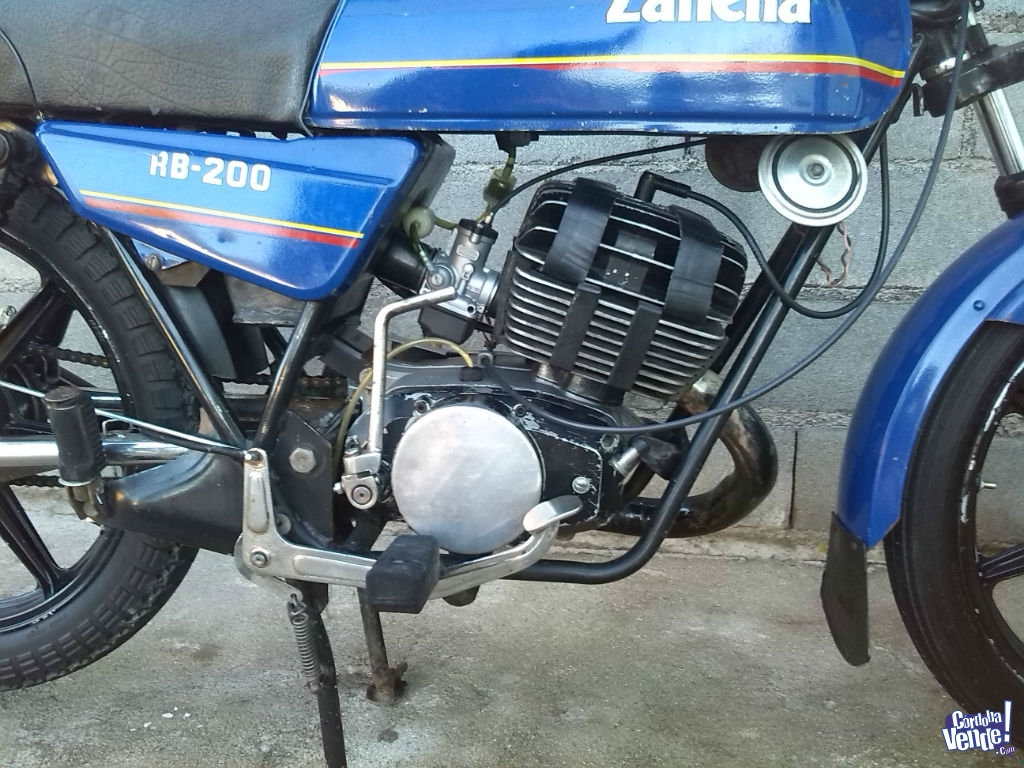 Manual motor zanella rb 200