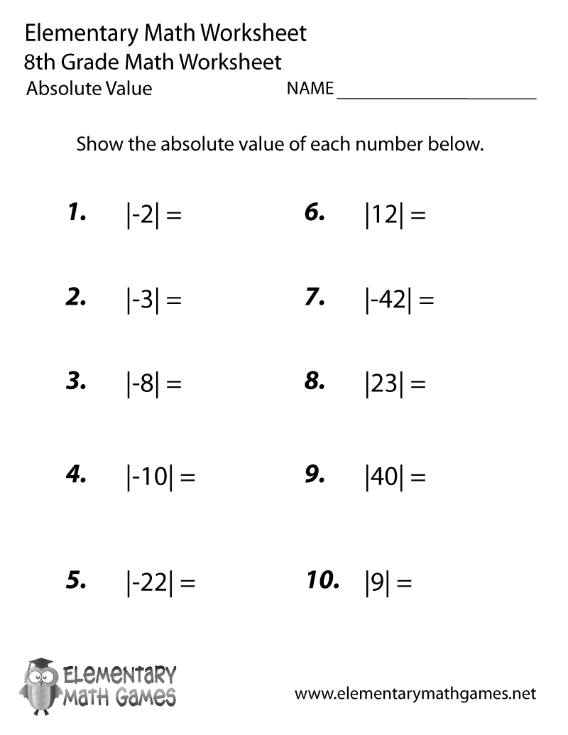 9th grade math review worksheets pdf