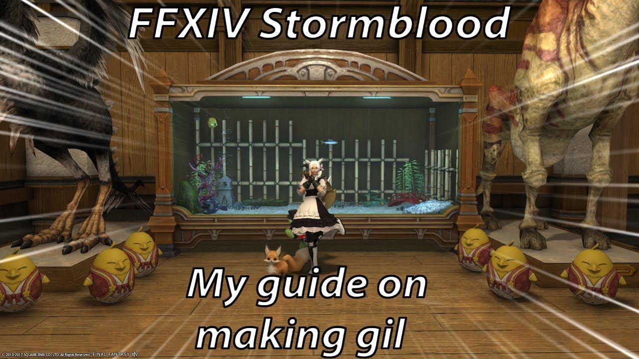 Ffxiv stormblood fishing gil guide