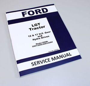 ford lgt 100 service manual