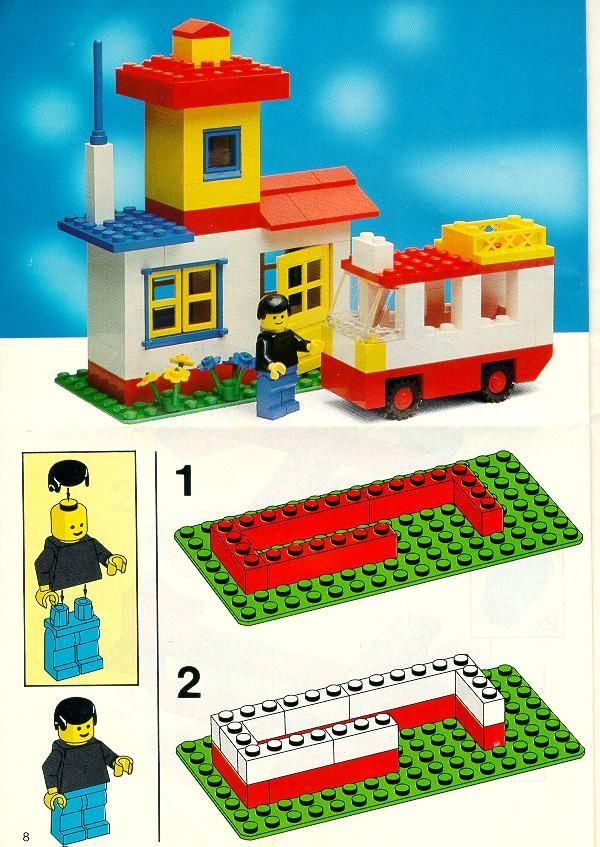 easy lego building instructions
