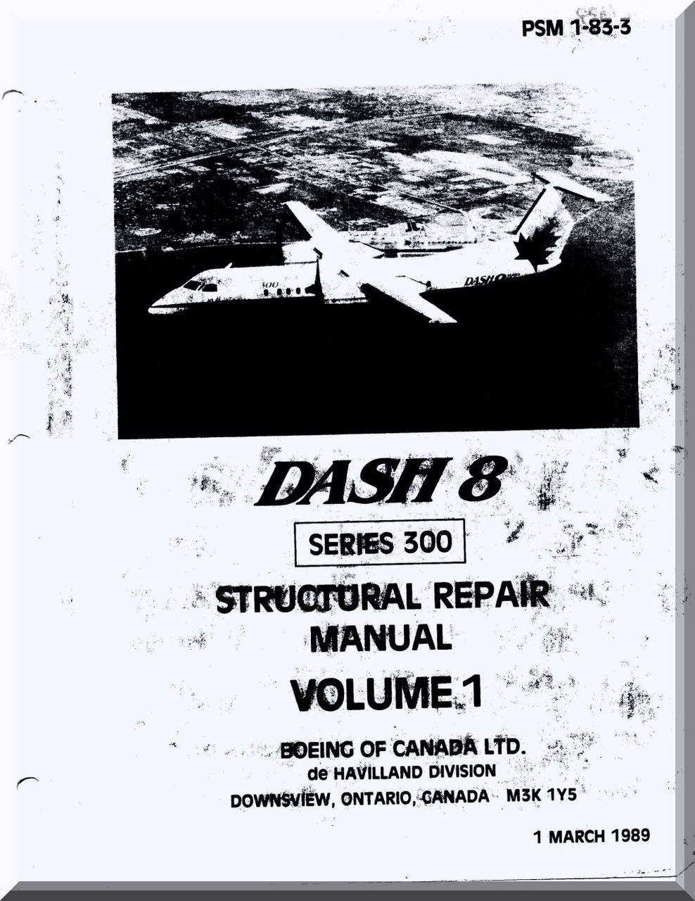 Aircraft structural repair manual srm