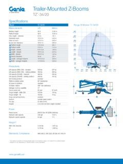 genie tz 34 20 service manual