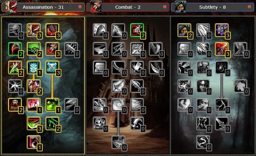 Combat rogue pvp guide 6.2 3
