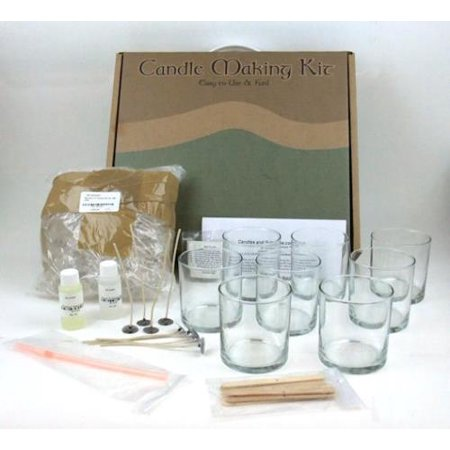 gel candle making kit instructions