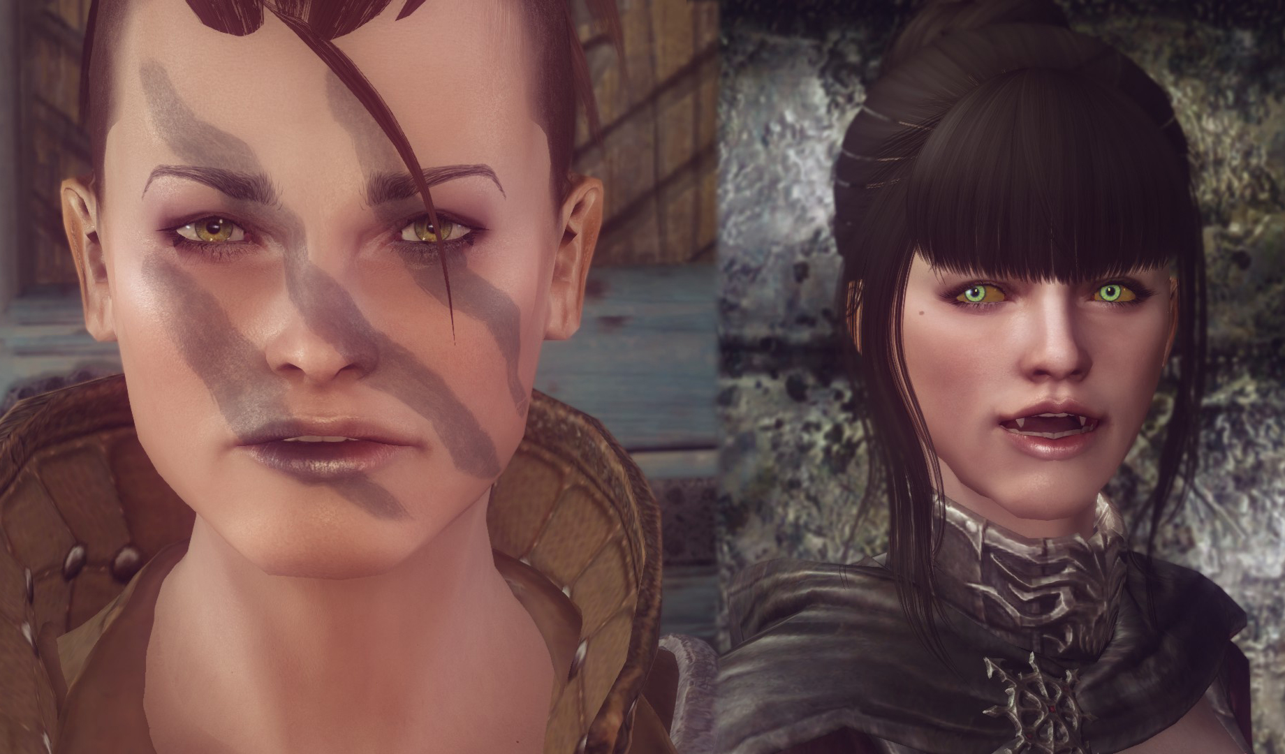 Skyrim how to get rid of neck seam on followers