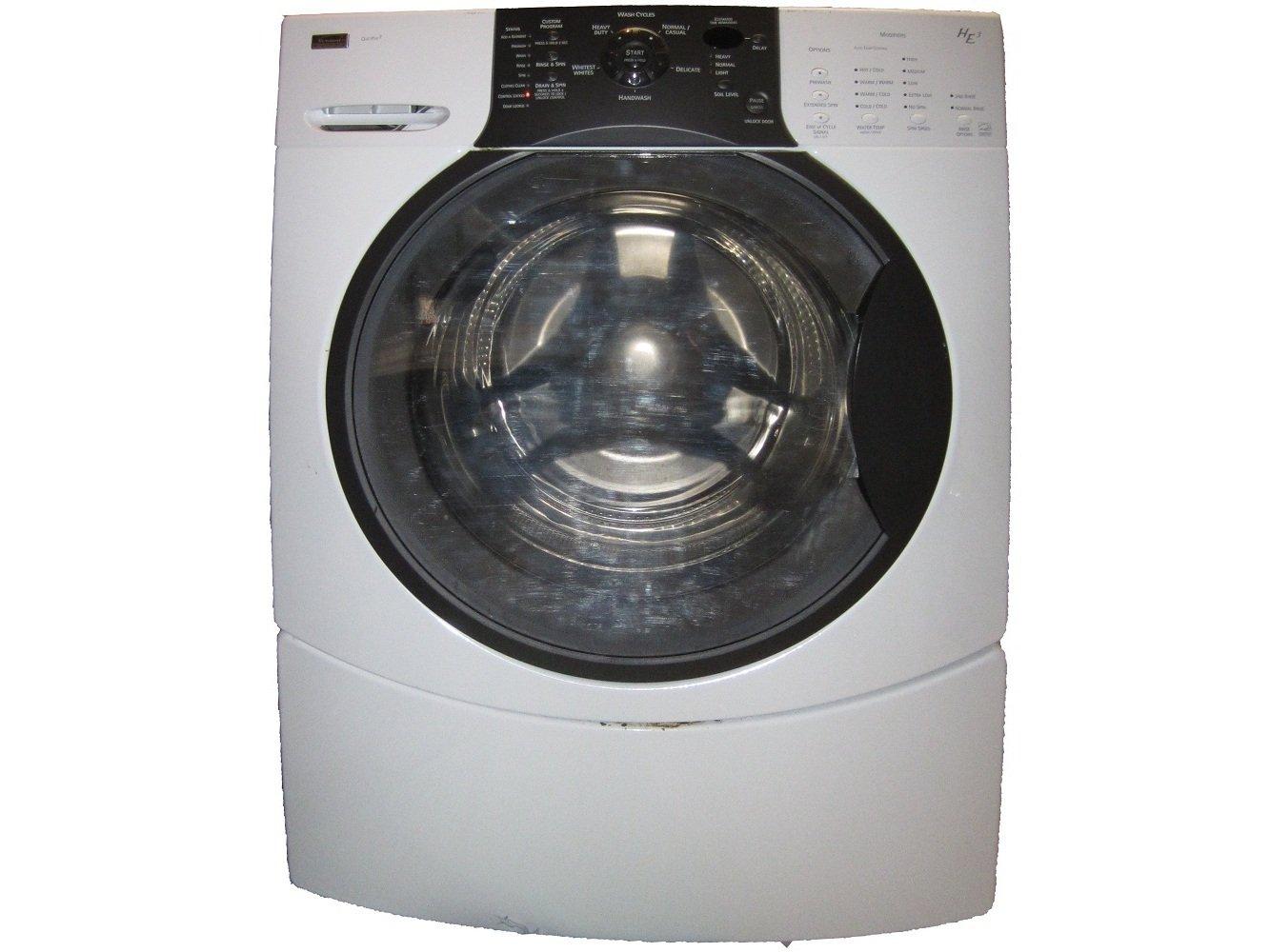 kenmore washing machine front loader manual