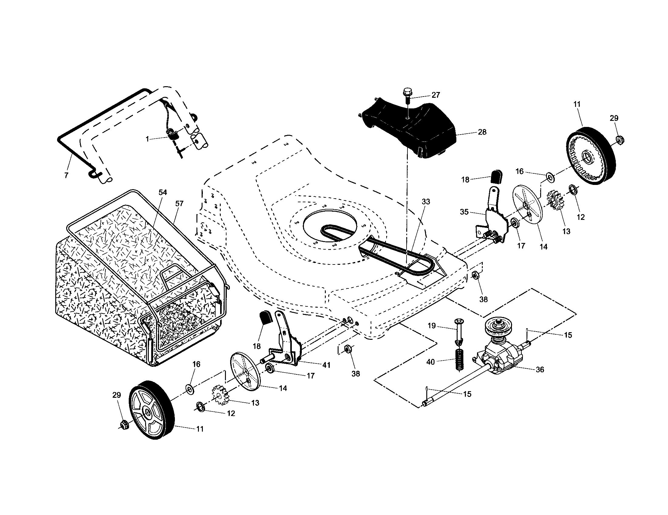 yard pro lawn mower manual