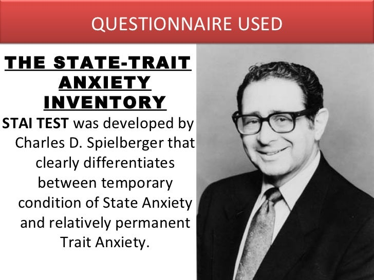 Test anxiety inventory charles d spielberger pdf