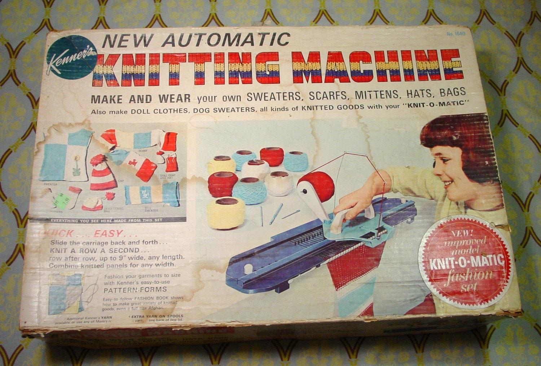 Kids knitting machine instructions