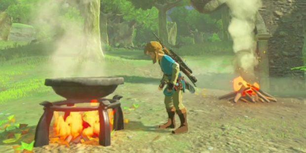 Breath of the wild cooking guide