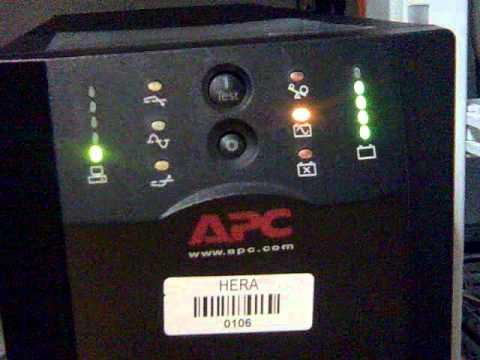 apc smart ups rt 2000 manual