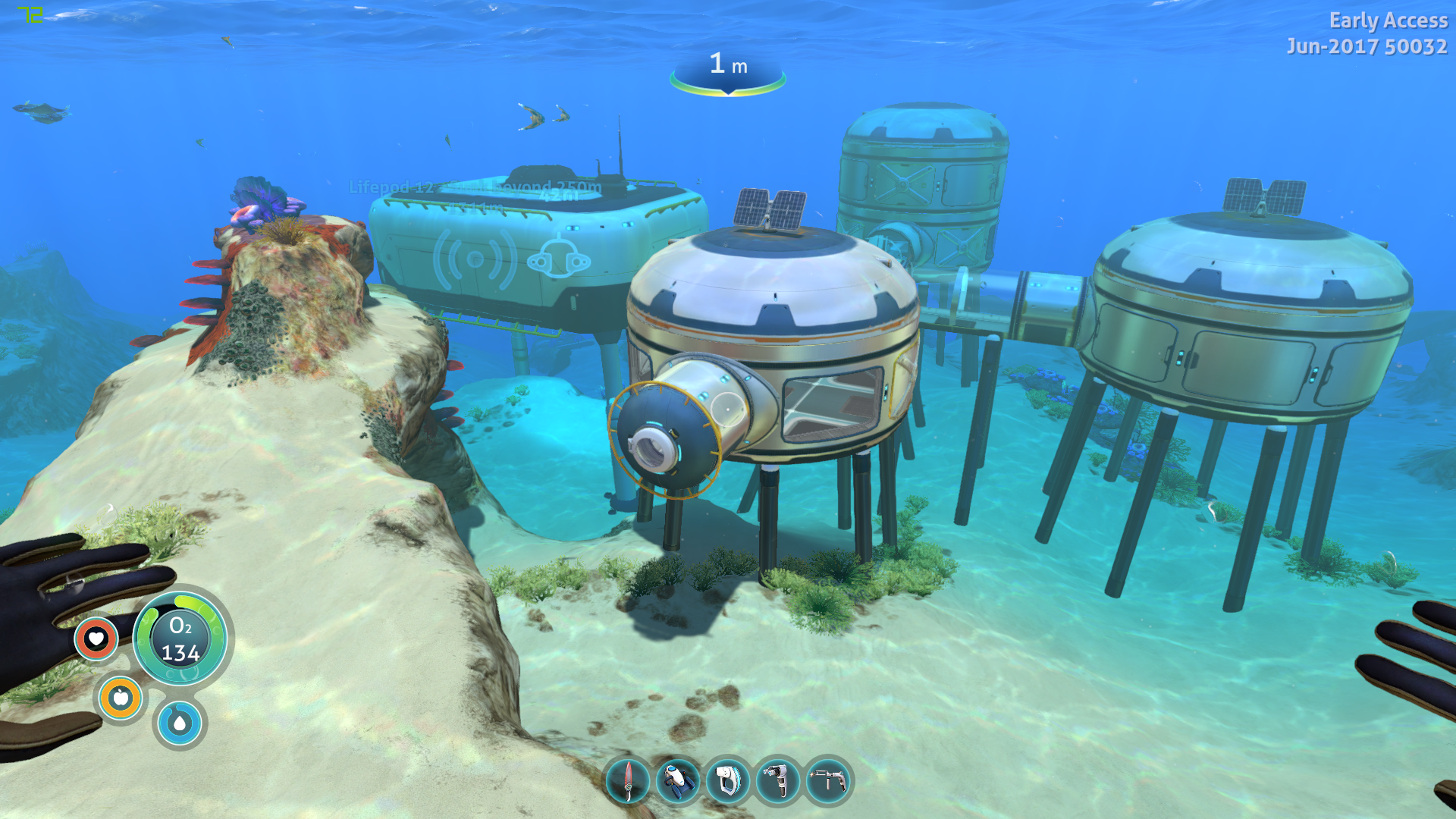 Subnautica how to get air in base