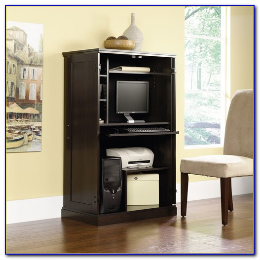 sauder computer armoire assembly instructions