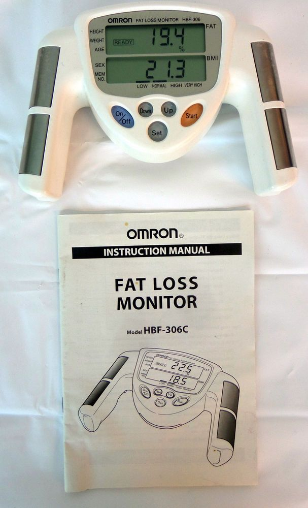 omron fat loss monitor hbf 306c manual