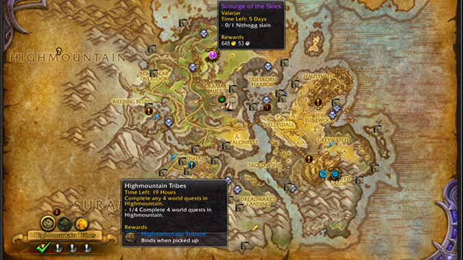 Wow how to get world quests