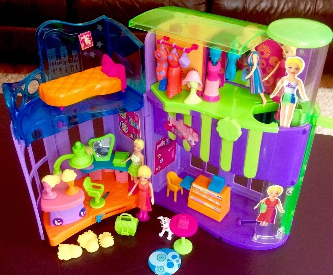 polly pocket boat instructions