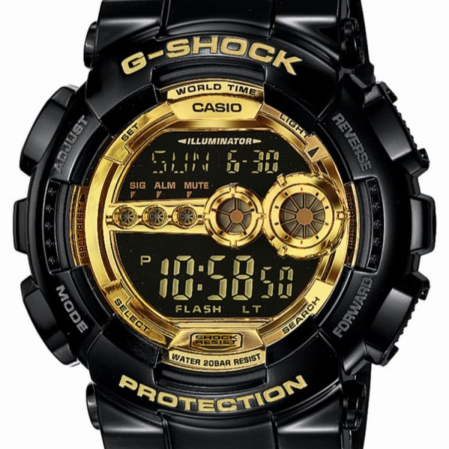 casio g-shock gd 100gb manual