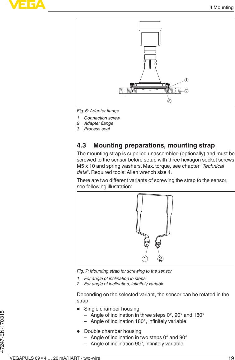 vegapuls 69 2 wire manual