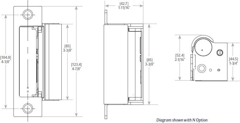 sargent 8200 installation instructions