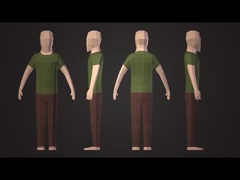 Blender 3d human model tutorial