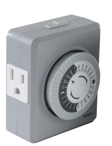 mechanical timer switch instructions