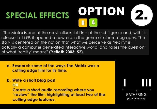 The matrix film study guide