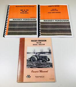 Massey ferguson to35 service manual