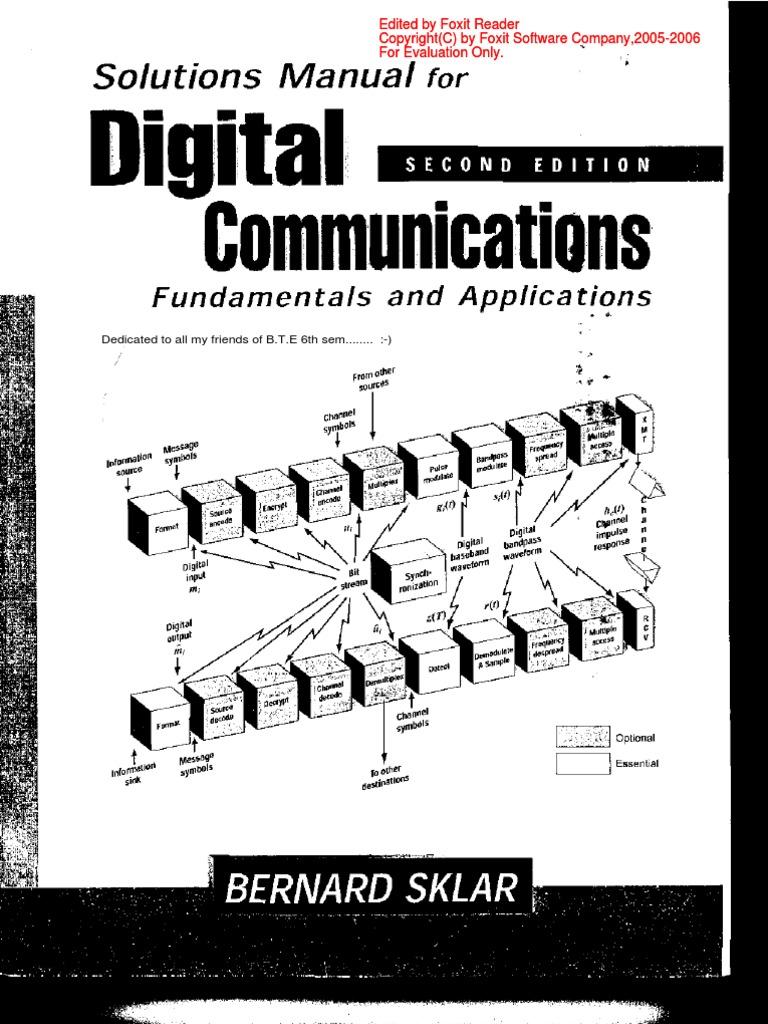 fundamentals of wireless communication solution manual