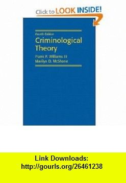 Criminological theory frank p williams pdf