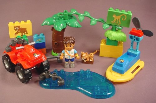 mega bloks diego instructions