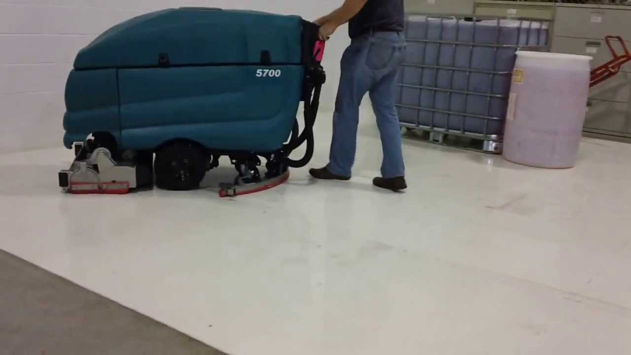Tennant 5700 floor scrubber manual
