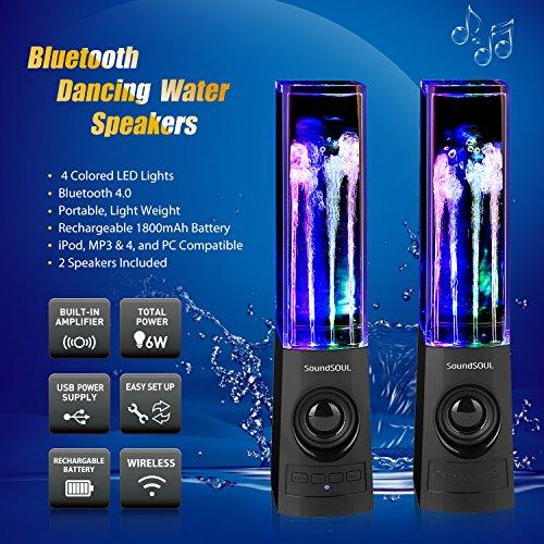 gadgetree dancing water speakers instructions