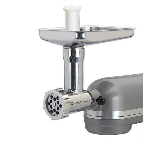kitchenaid mixer grinder attachment instructions