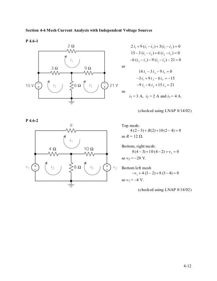 Mesh and nodal analysis pdf