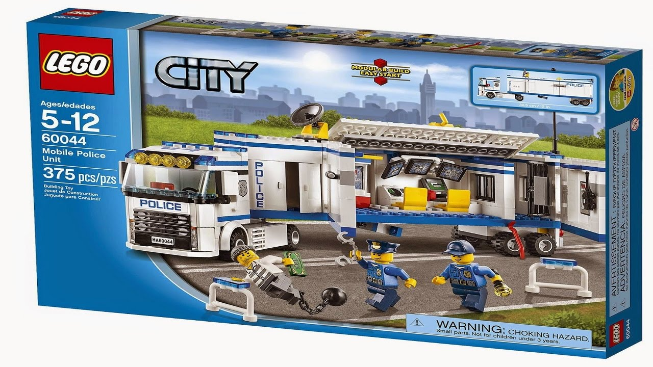 lego police trailer instructions 60044