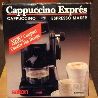 salton espresso maker instructions