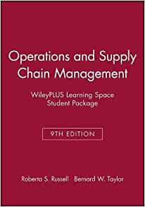 Operations and supply chain management 9th edition russell taylor pdf