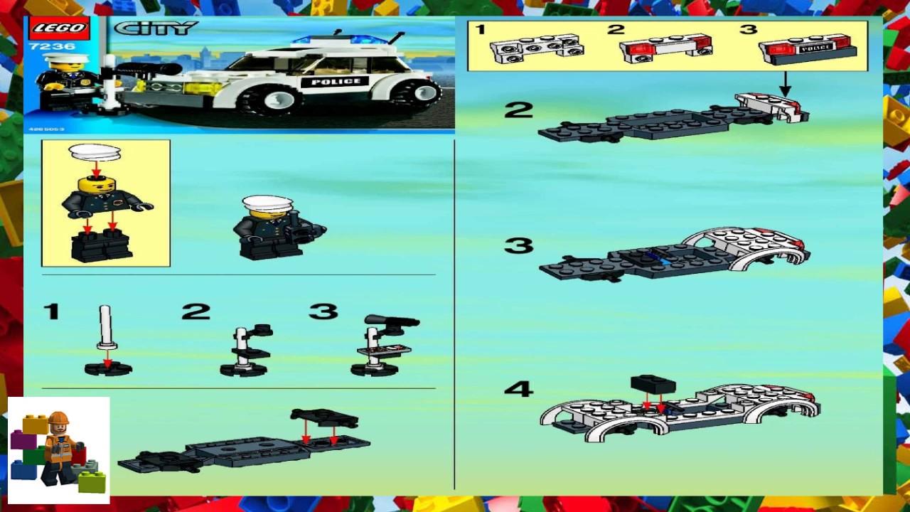 lego city 7236 instructions