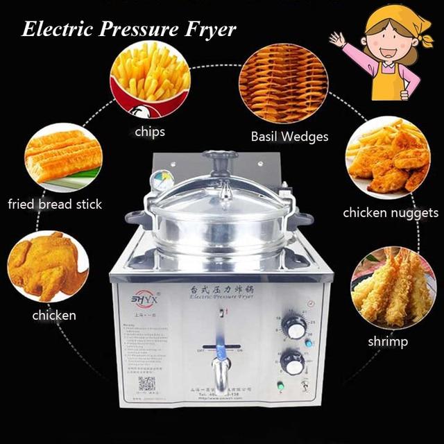 chicken express pressure fryer manual